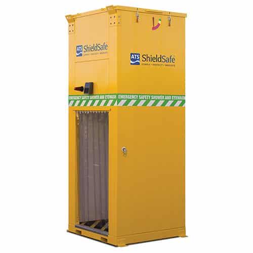 EcoDrench for safety shower obstructions blog