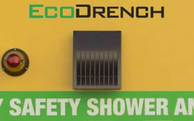 Solve Site Challenges with the EcoDrench™ Cubical Safety Shower