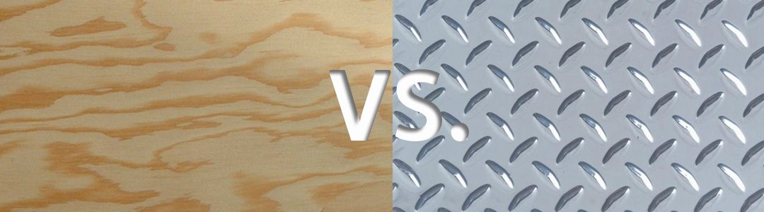 Wood Versus Steel: Differences between Safety Shower Construction
